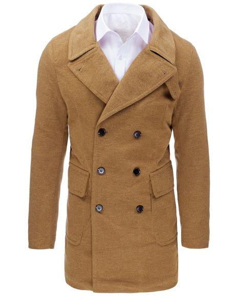 Kamelový pánsky kabát