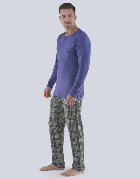 Fialové pánske pyžamo Richard