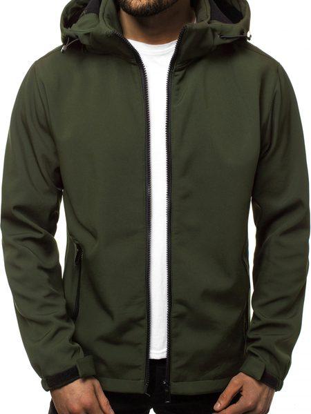 Softshell bunda zelená JS/56008Z