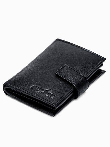 Čierna pánska peňaženka A248