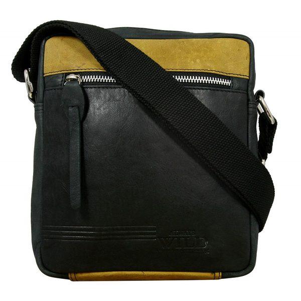 Štýlová čierna taška pre pánov