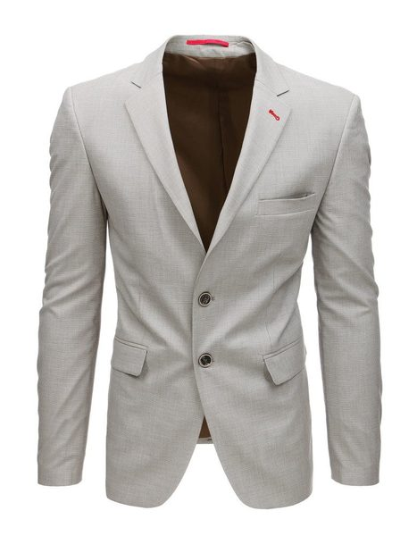 Jedinečné sako v béžovej farbe