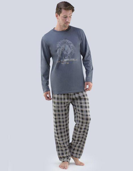 Sivé pánske pyžamo Luis