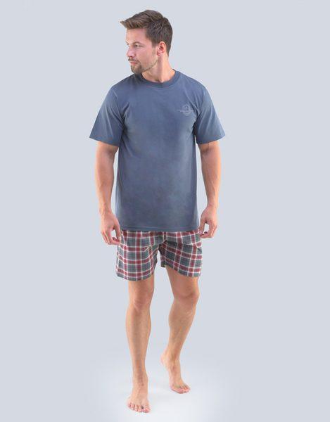 Pánske letné pyžamo Félix šedý