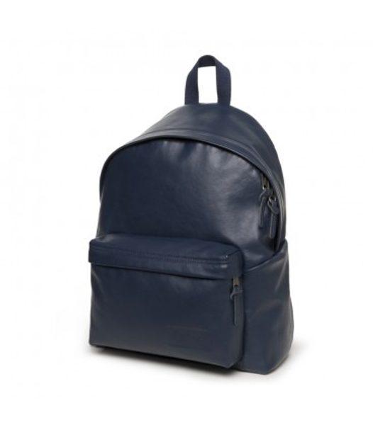 Modrý kožený batoh PADDED PAK'R