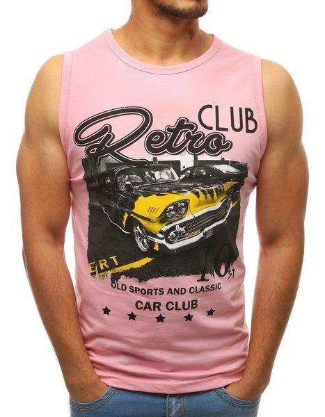 Ružové tielko RETRO CLUB