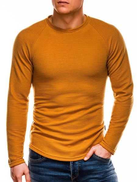 Hnedý pánsky sveter b1021