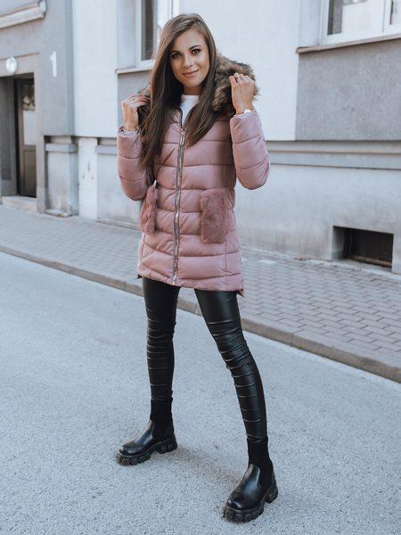 Originálna ružová dámska bunda Jackie
