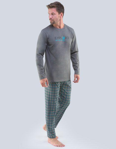 Sivé pyžamo Oskar
