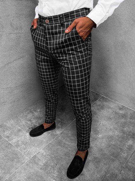 Čierne elegantné nohavice DJ/5510