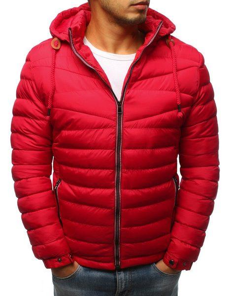 Originálna červená zimná bunda