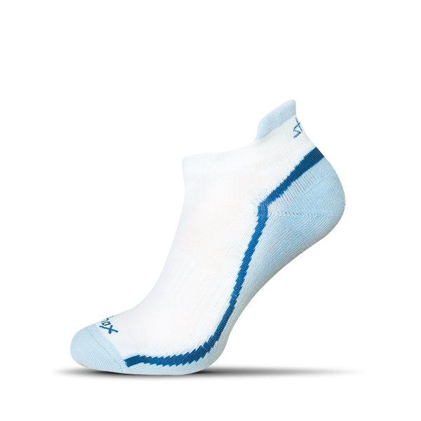 Bielo-svetlo modré pánske ponožky