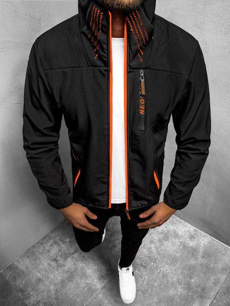 Softshell bunda v čiernej farbe JS/KS2185Z