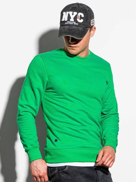 Štýlová zelená mikina B978