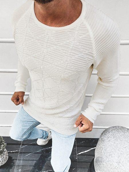 Nádherný sveter v ecru farbe L/2547