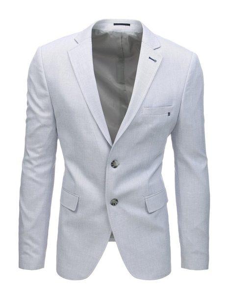 Svetlo šedé elegantné pánske sako