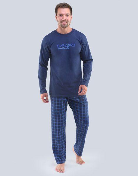 Tmavo modré pyžamo Oskar