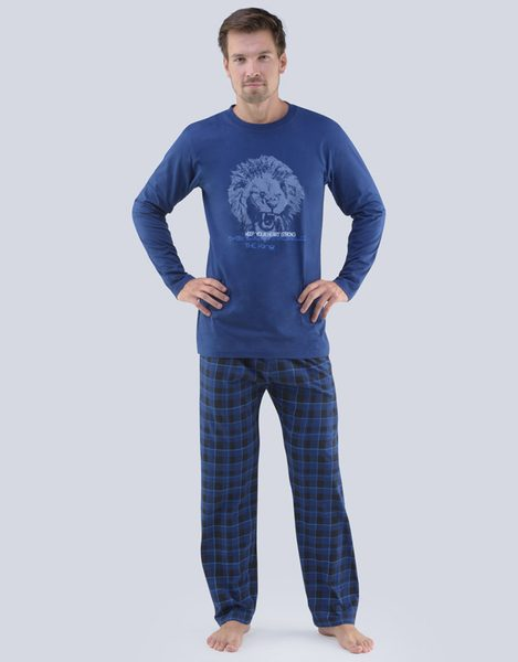 Modré pánske pyžamo Luis