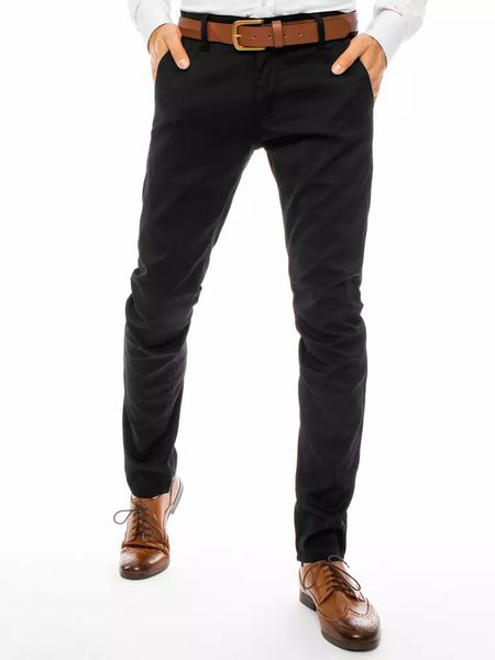 Elegantné nohavice v čiernom prevedení