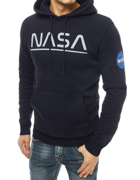 Granátová mikina s kapucňou NASA