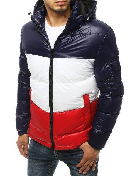 Moderná granátová zimná bunda