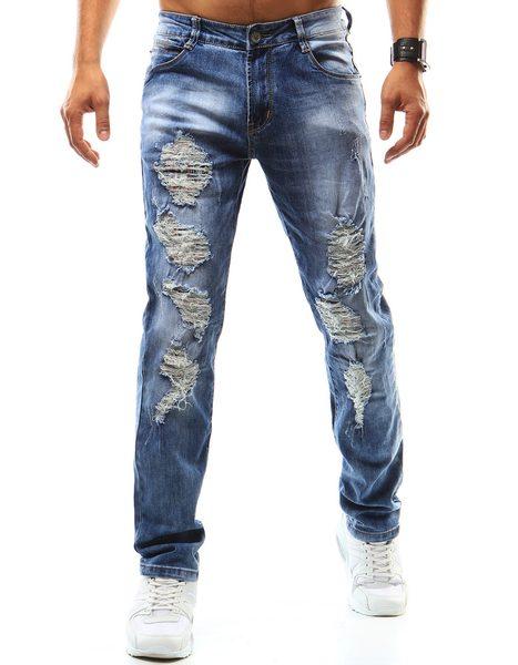 Potrhané pánske jeansy