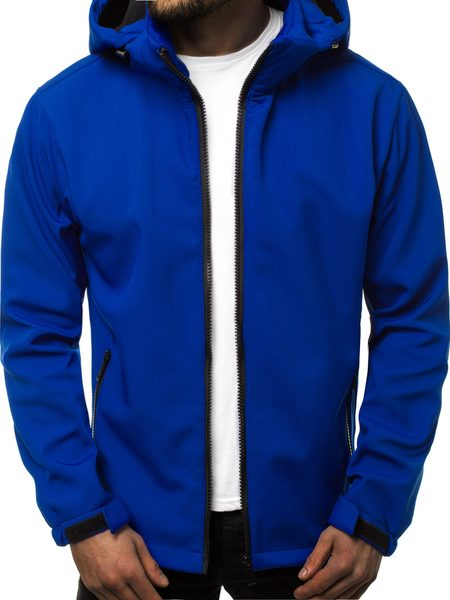 Softshell bunda modrá JS/56008Z