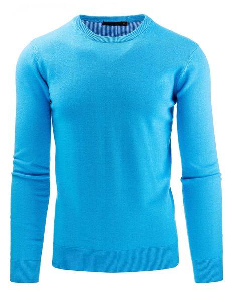 Tyrkysový pánsky sveter