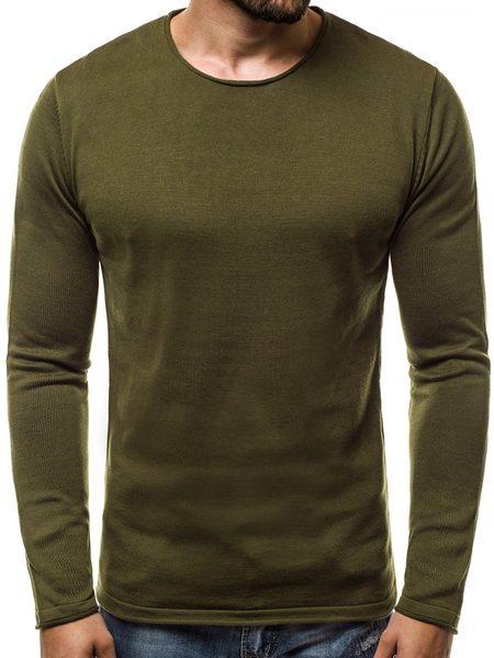 Zelený pánsky sveter B/2097