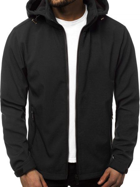 Softshell bunda čierna JS/56008Z