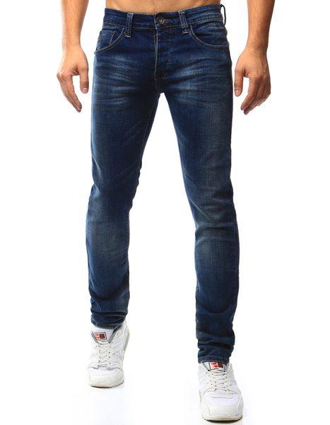 Jednoduché pánske džínsové nohavice