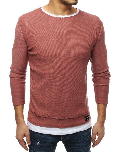Atraktívny ružový sveter