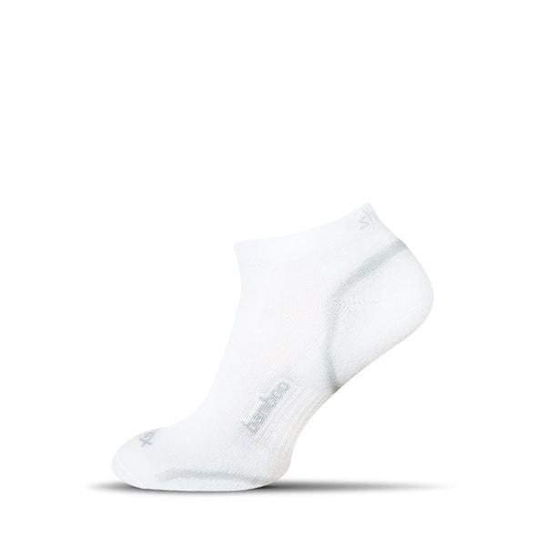 Členkové bambusové pánske ponožky v bielej farbe