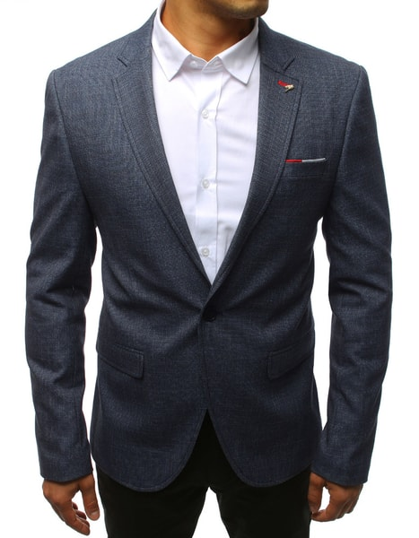 Zaujímavé sako v granátovej farbe