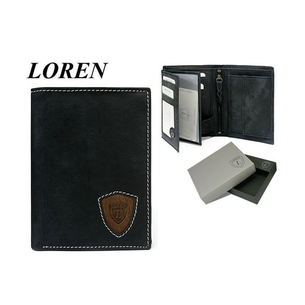 Pánska peňaženka LOREN čierna