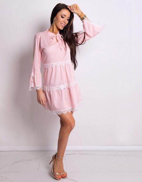 Dámske šaty CATIE ružové
