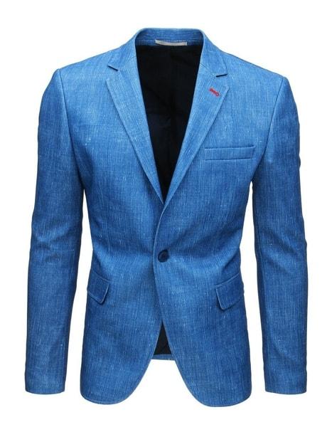 Nebesky modré originálne sako