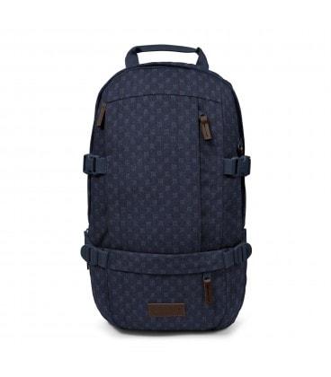 FLOID denim štvorčekavý batoh