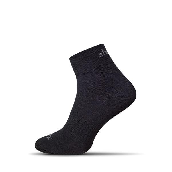 Vzdušné čierne pánske ponožky