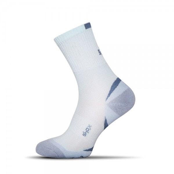 Bavlnené pánske ponožky v svetlo-modrej farbe