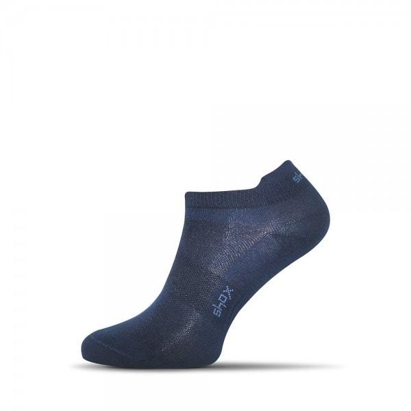 Modré pánske členkové ponožky