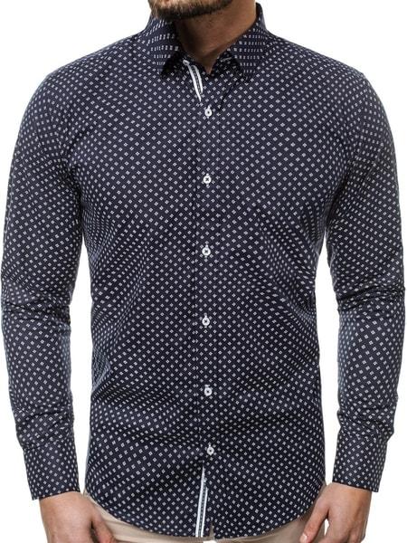 Elegantná pánska košeľa granátová V/K78