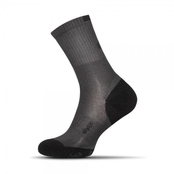Bavlnené pánske ponožky v šedej farbe