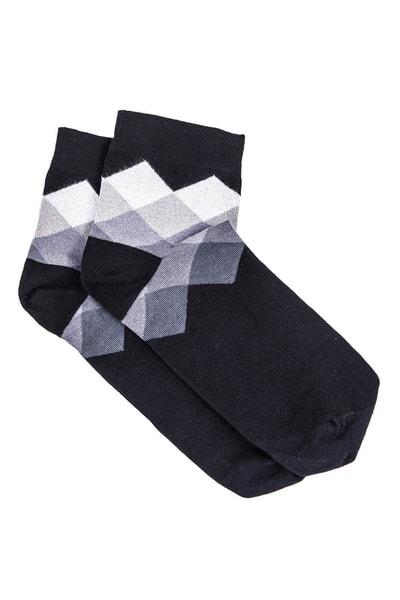 Šedé pánske ponožky so vzorom U17