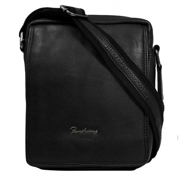 Moderná čierna pánska taška
