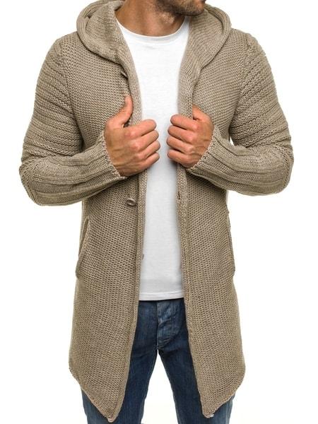 Štýlový sveter MADMEXT 1719 béžový