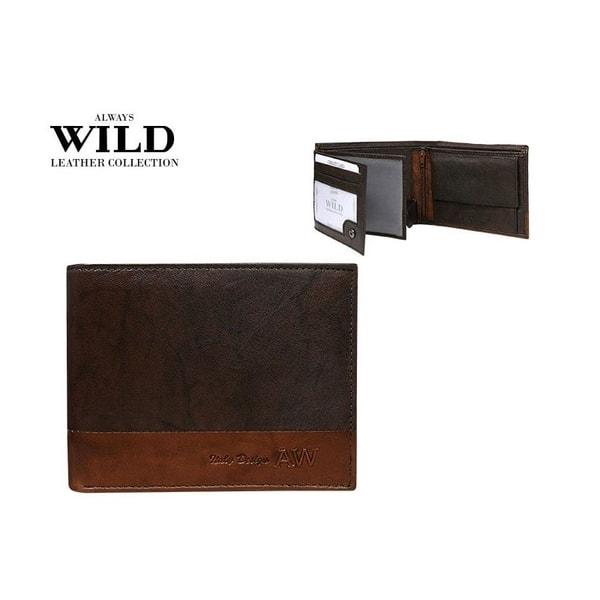 Kožená peňaženka pre muža