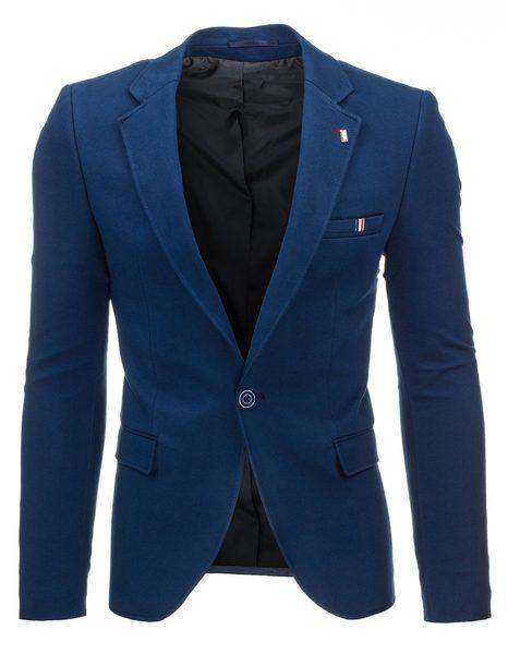 Elegantné pánske sako v granátovej farbe