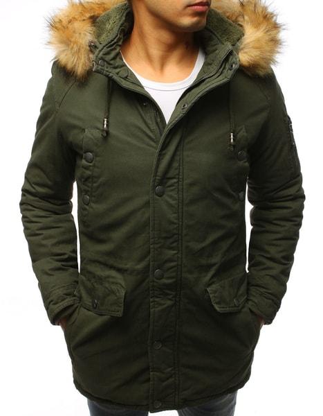Zelená fantastická zimná bunda