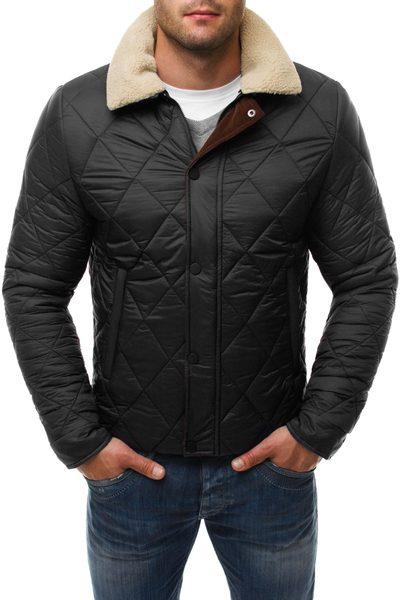 Čierna pánska zimná bunda Stegol 132